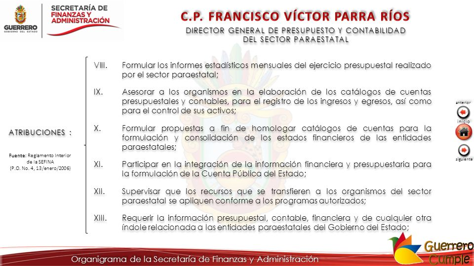 C.P. FRANCISCO VÍCTOR PARRA RÍOS