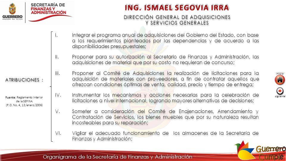 ING. ISMAEL SEGOVIA IRRA