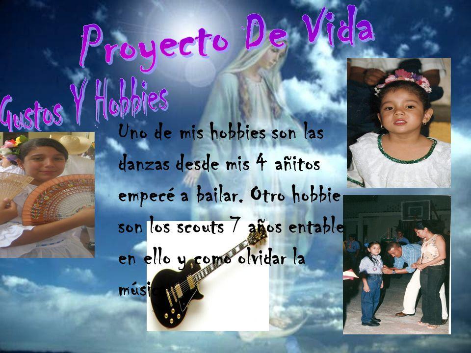 Proyecto De Vida Gustos Y Hobbies.