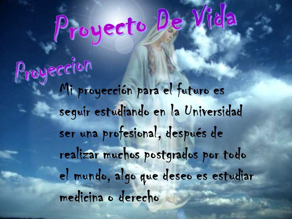 Proyecto De Vida Proyeccion.