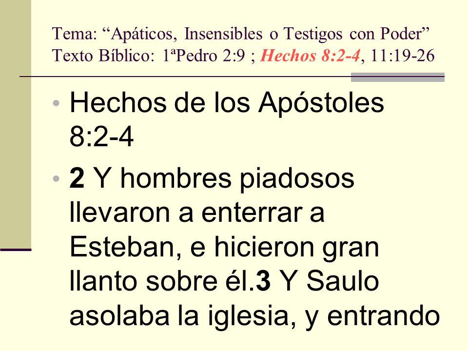 Hechos de los Apóstoles 8:2-4