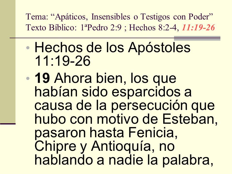 Hechos de los Apóstoles 11:19-26