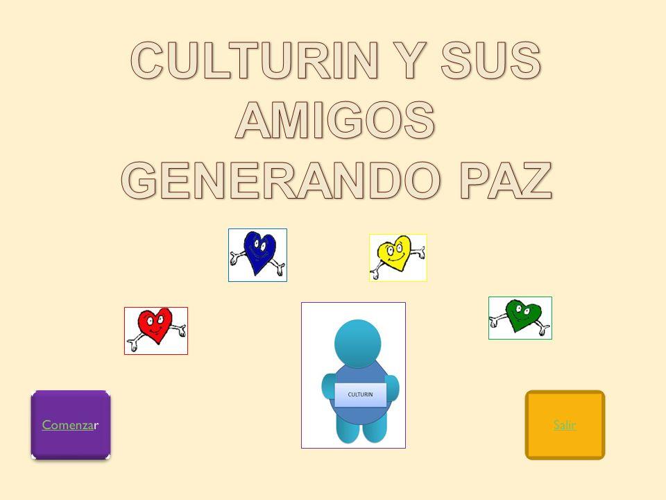CULTURIN Y SUS AMIGOS GENERANDO PAZ