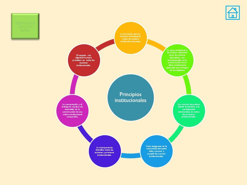 Principios institucionales
