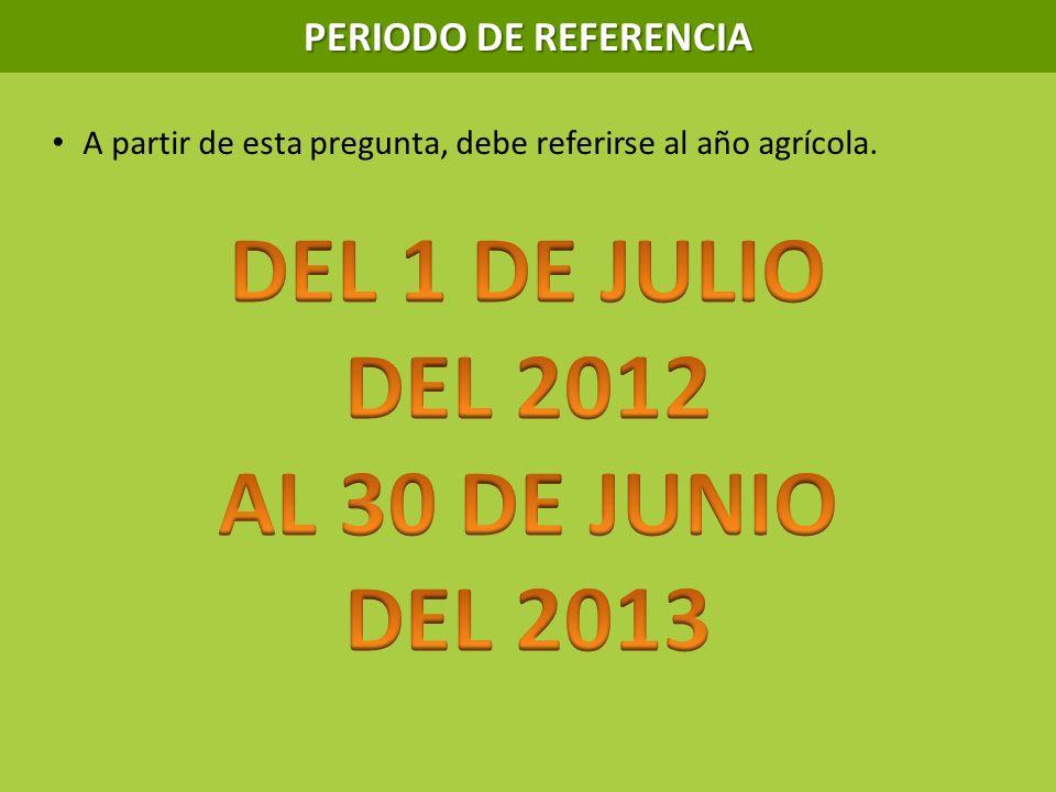 DEL 1 DE JULIO DEL 2012 AL 30 DE JUNIO DEL 2013