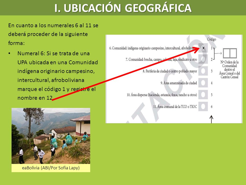 I. UBICACIÓN GEOGRÁFICA