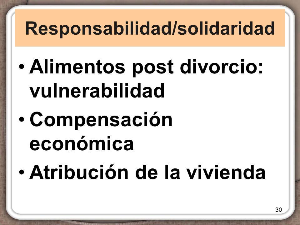 Responsabilidad/solidaridad
