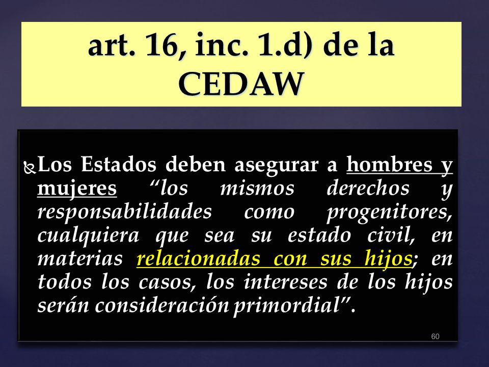 art. 16, inc. 1.d) de la CEDAW