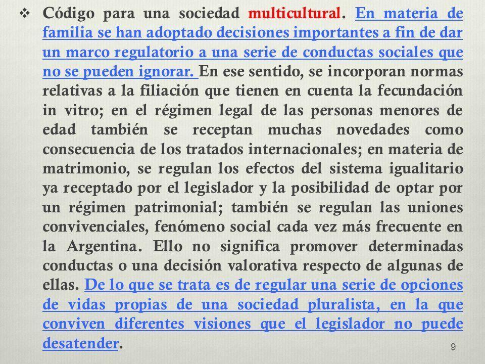 Código para una sociedad multicultural