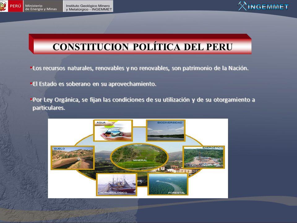 CONSTITUCION POLÍTICA DEL PERU