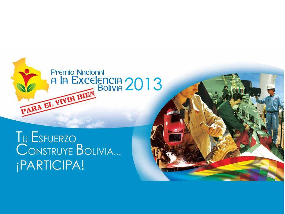 El Premio Nacional a la Excelencia para el Vivir Bien