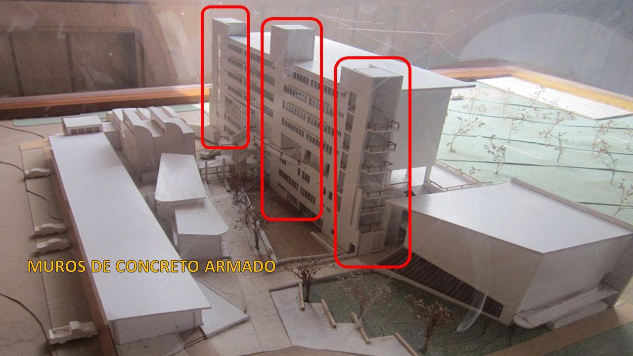 Edificios y sistemas resistentes a cargas laterales ppt for Muro de concreto armado