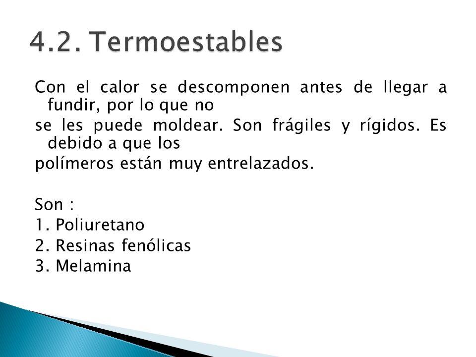 4.2. Termoestables