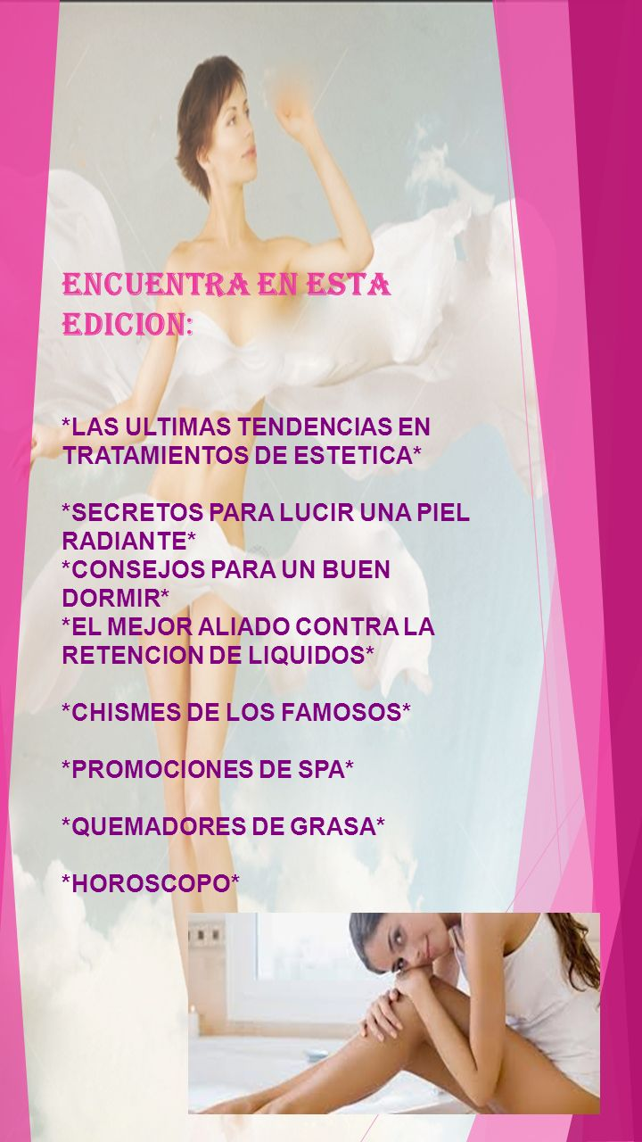 ENCUENTRA EN ESTA EDICION: