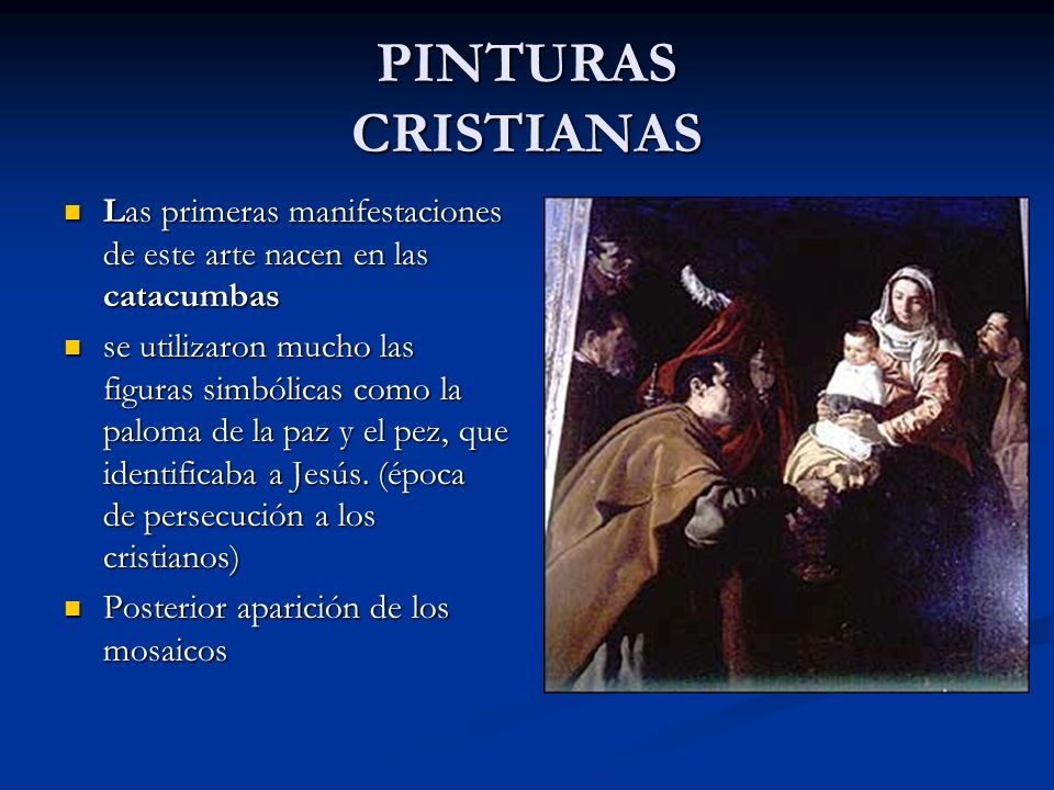 PINTURAS CRISTIANAS