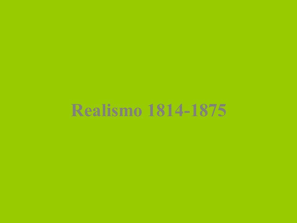 Realismo 1814-1875
