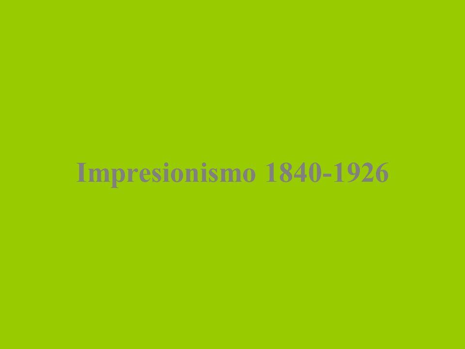 Impresionismo 1840-1926