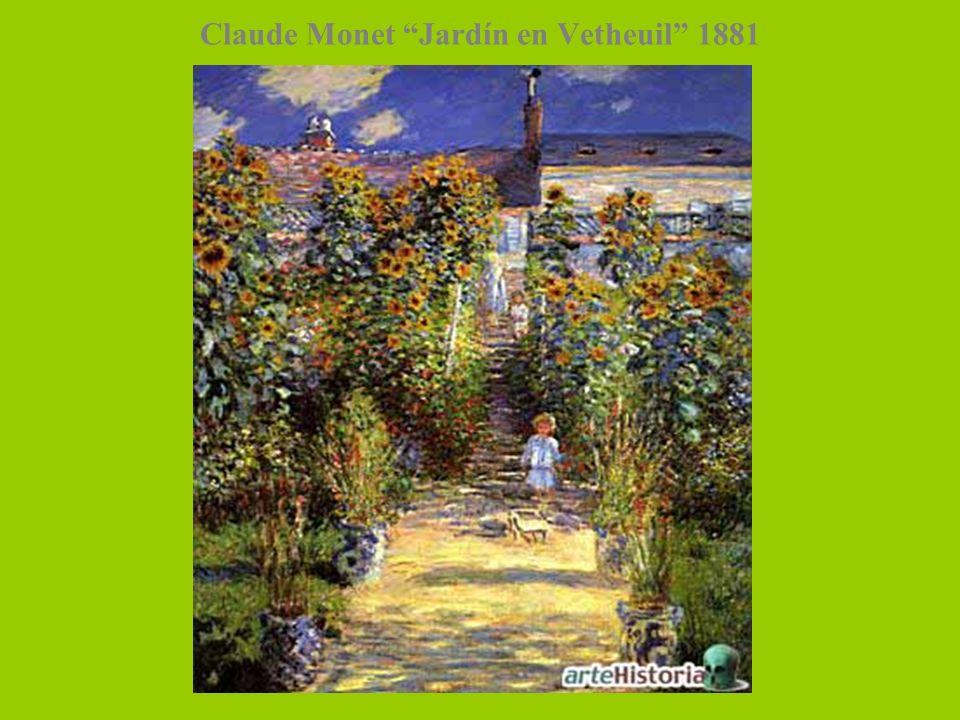 Claude Monet Jardín en Vetheuil 1881