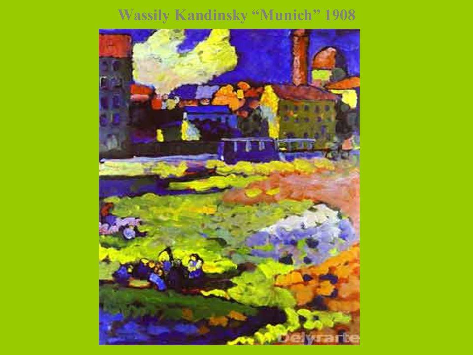 Wassily Kandinsky Munich 1908