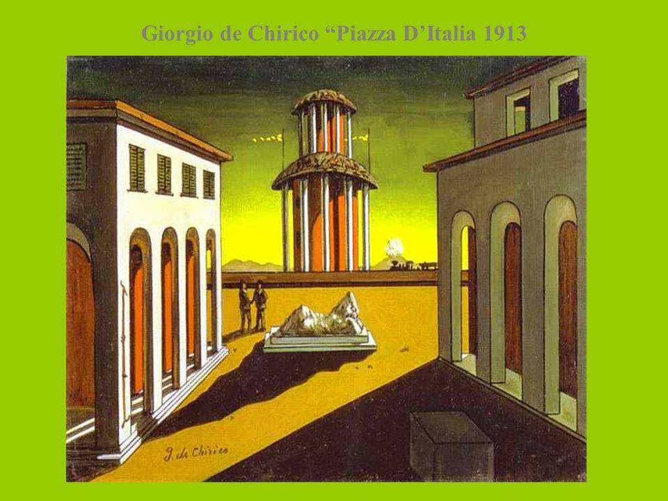 Giorgio de Chirico Piazza D'Italia 1913