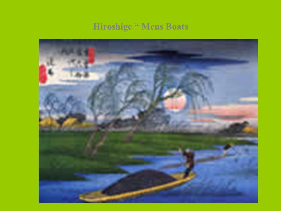 Hiroshige Mens Boats
