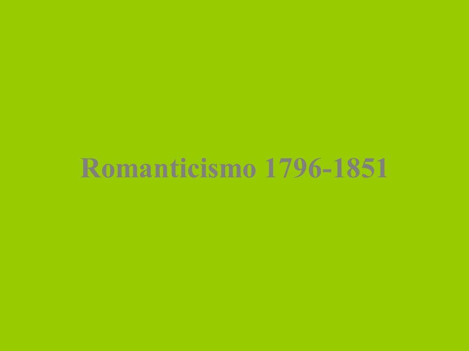 Romanticismo 1796-1851