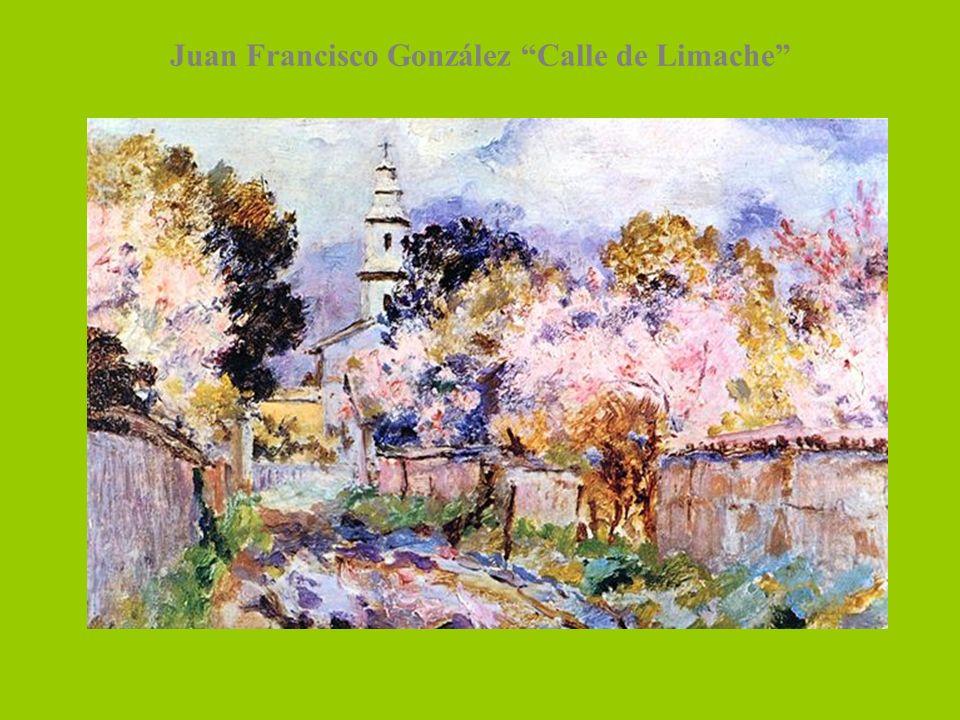 Juan Francisco González Calle de Limache