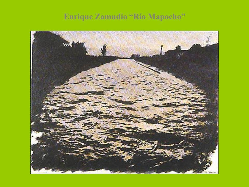 Enrique Zamudio Río Mapocho