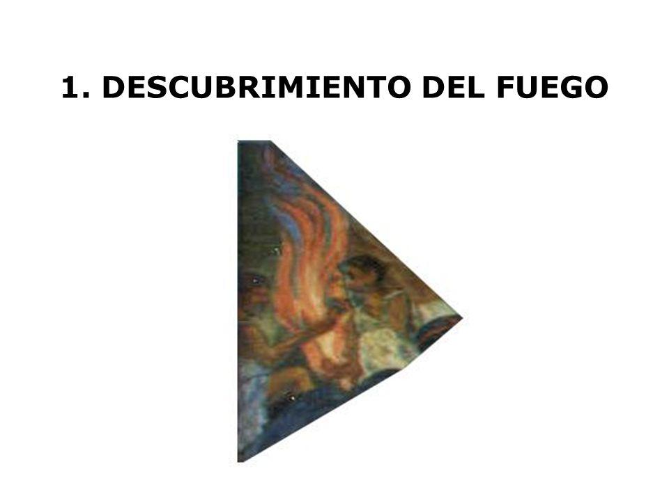 1. DESCUBRIMIENTO DEL FUEGO