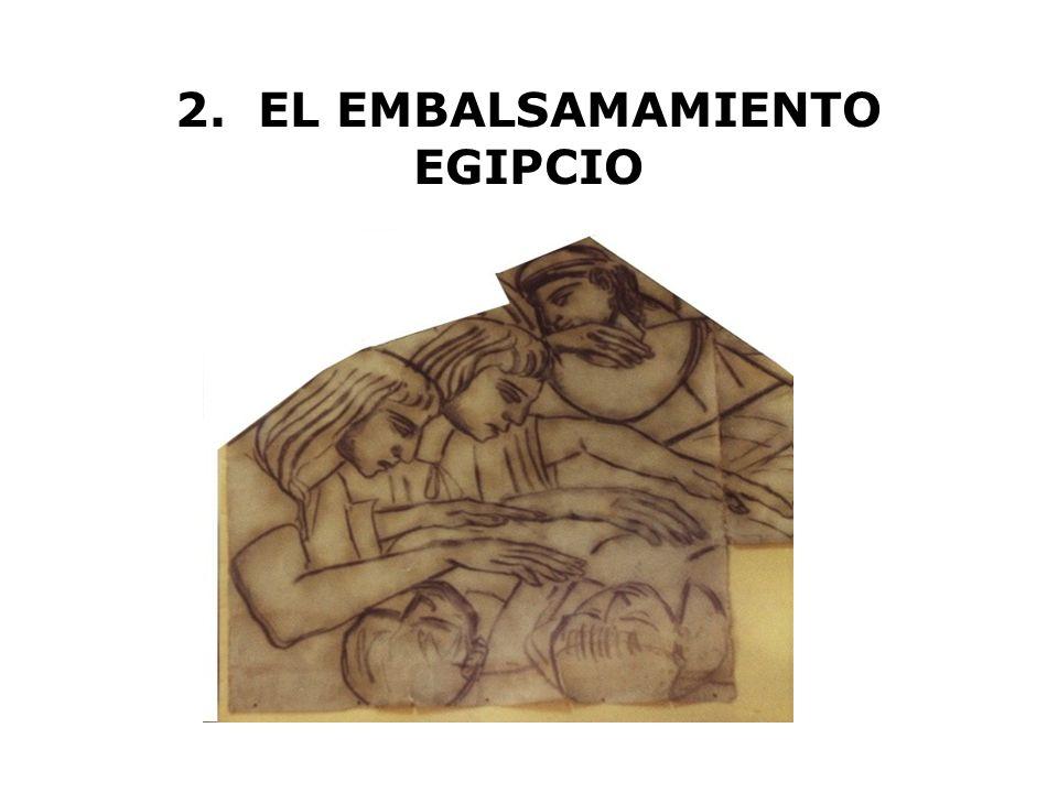 2. EL EMBALSAMAMIENTO EGIPCIO