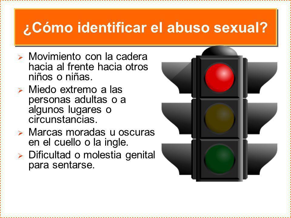 ¿Cómo identificar el abuso sexual