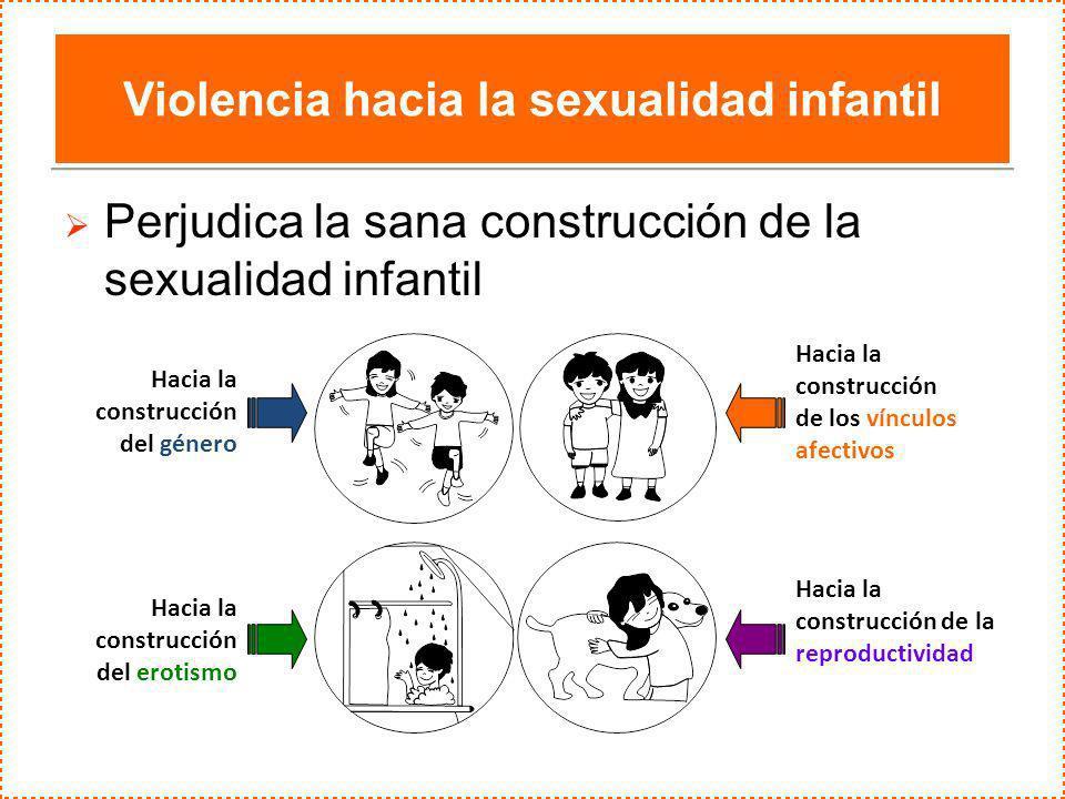 Violencia hacia la sexualidad infantil