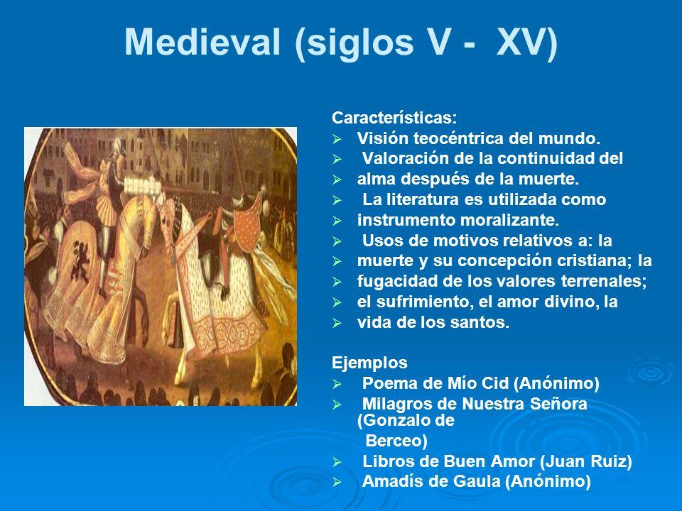 Medieval (siglos V - XV)