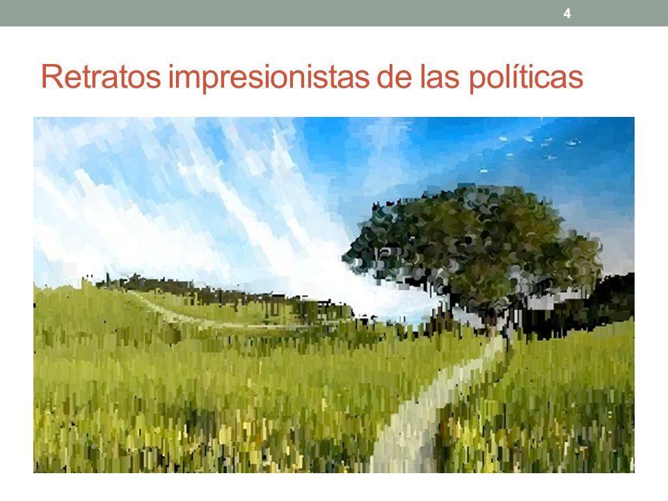 Retratos impresionistas de las políticas