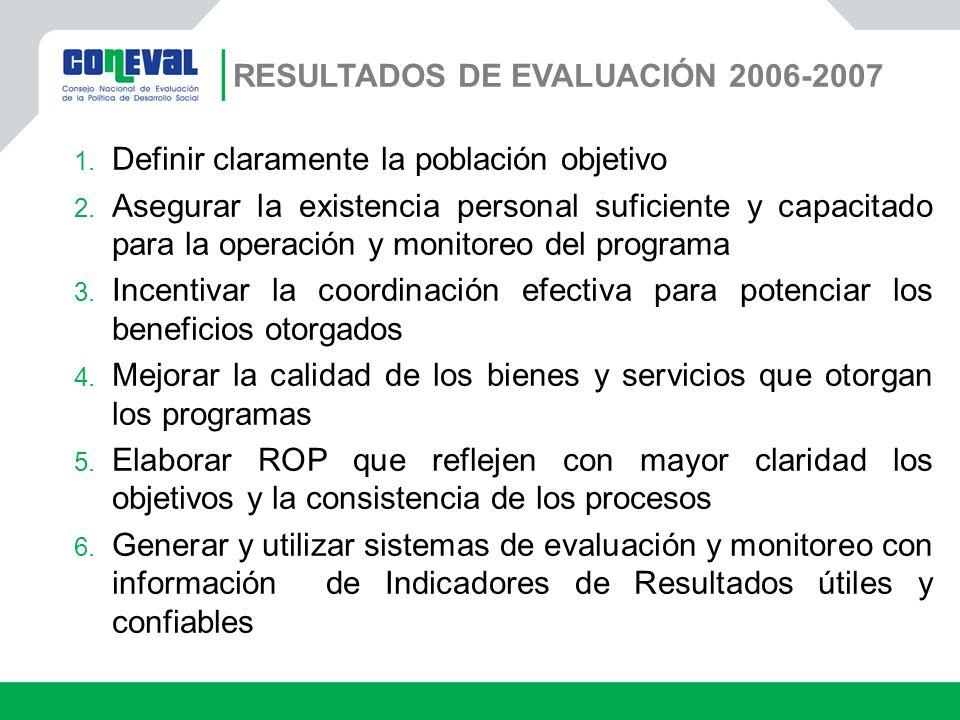 Resultados de Evaluación 2006-2007