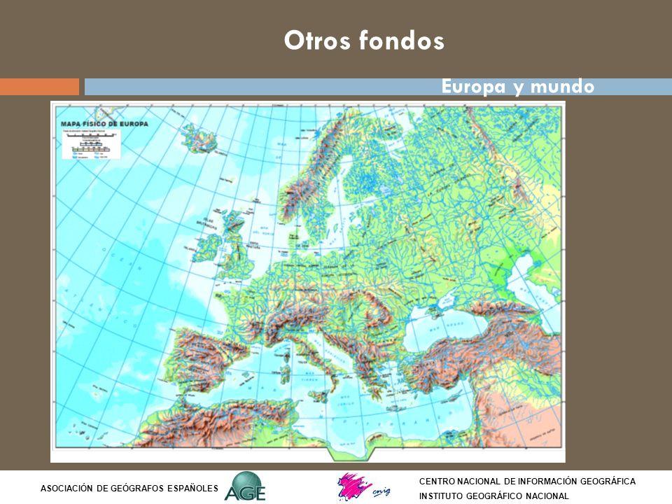 Otros fondos Europa y mundo Síntesis del tema: