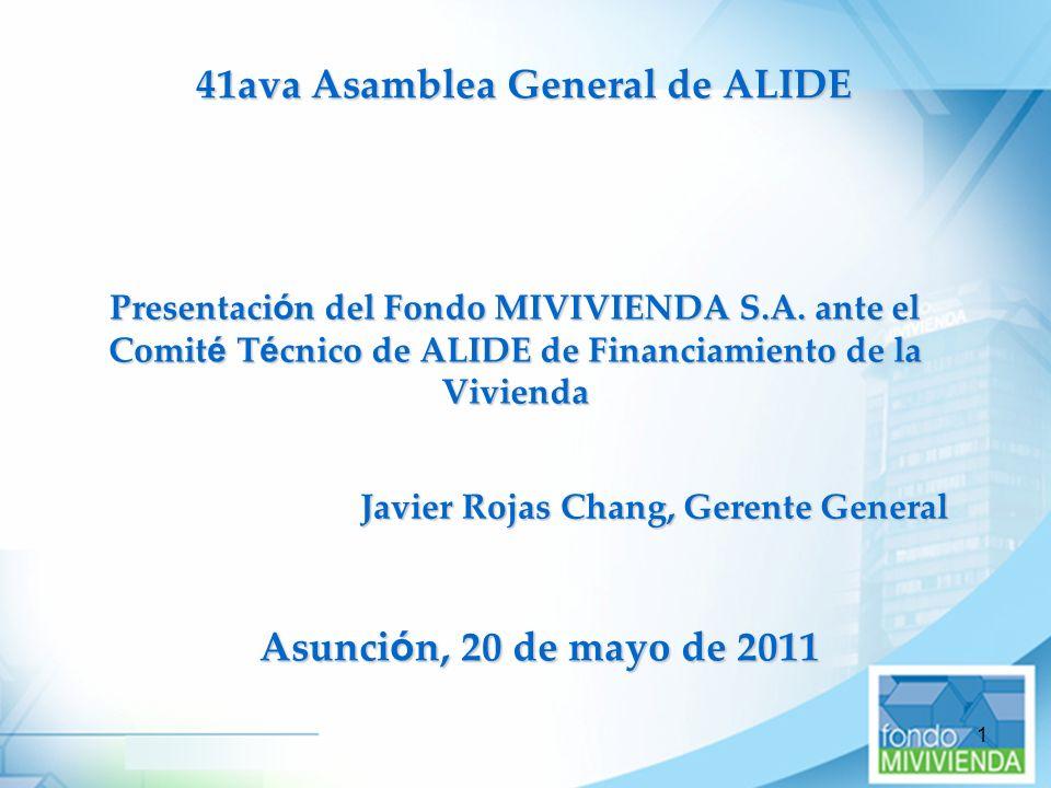 41ava Asamblea General de ALIDE