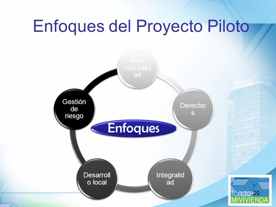 Enfoques del Proyecto Piloto