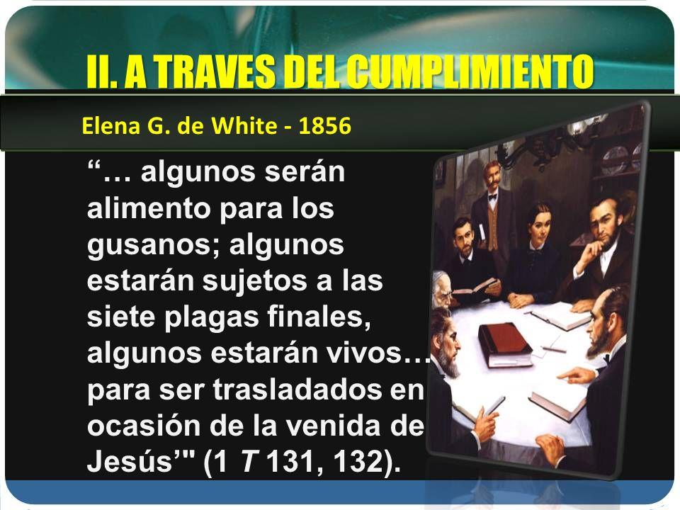 II. A TRAVES DEL CUMPLIMIENTO