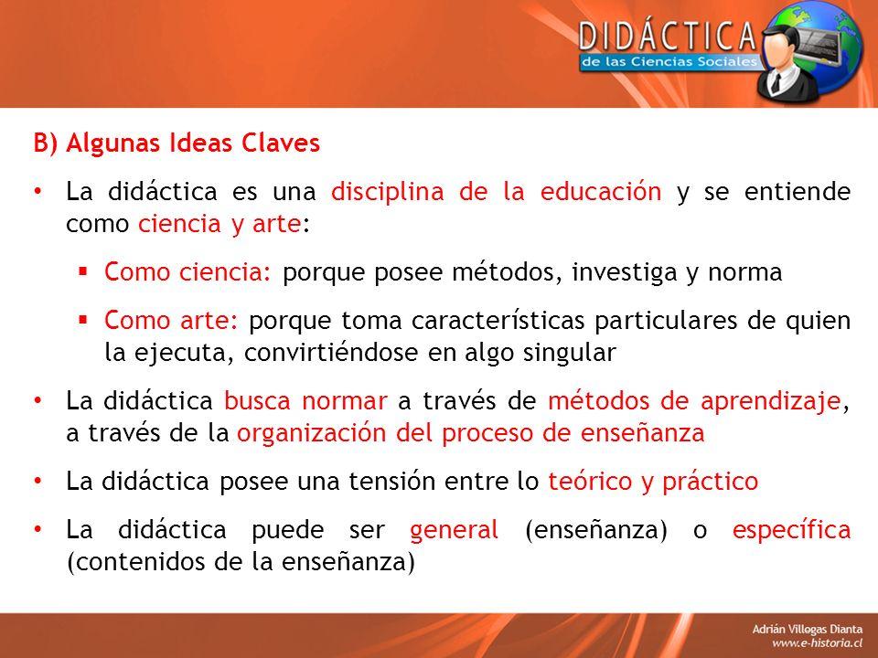 B) Algunas Ideas Claves