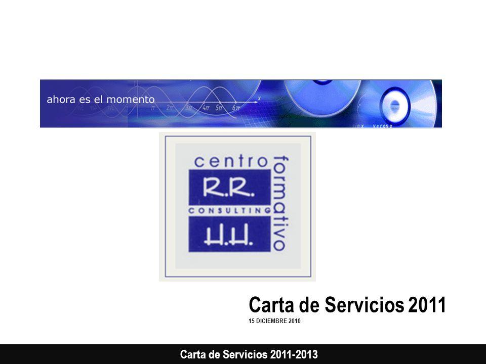 Carta de Servicios 2011 15 DICIEMBRE 2010
