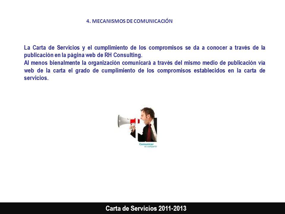 4. MECANISMOS DE COMUNICACIÓN