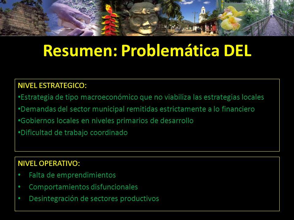 Resumen: Problemática DEL