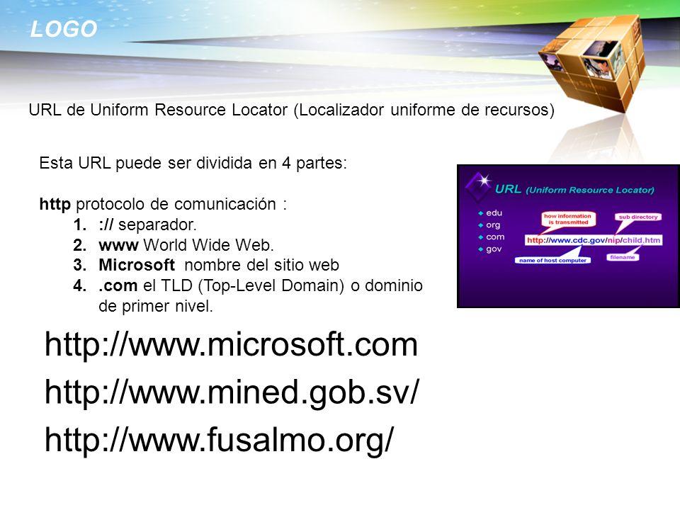 http://www.microsoft.com http://www.mined.gob.sv/