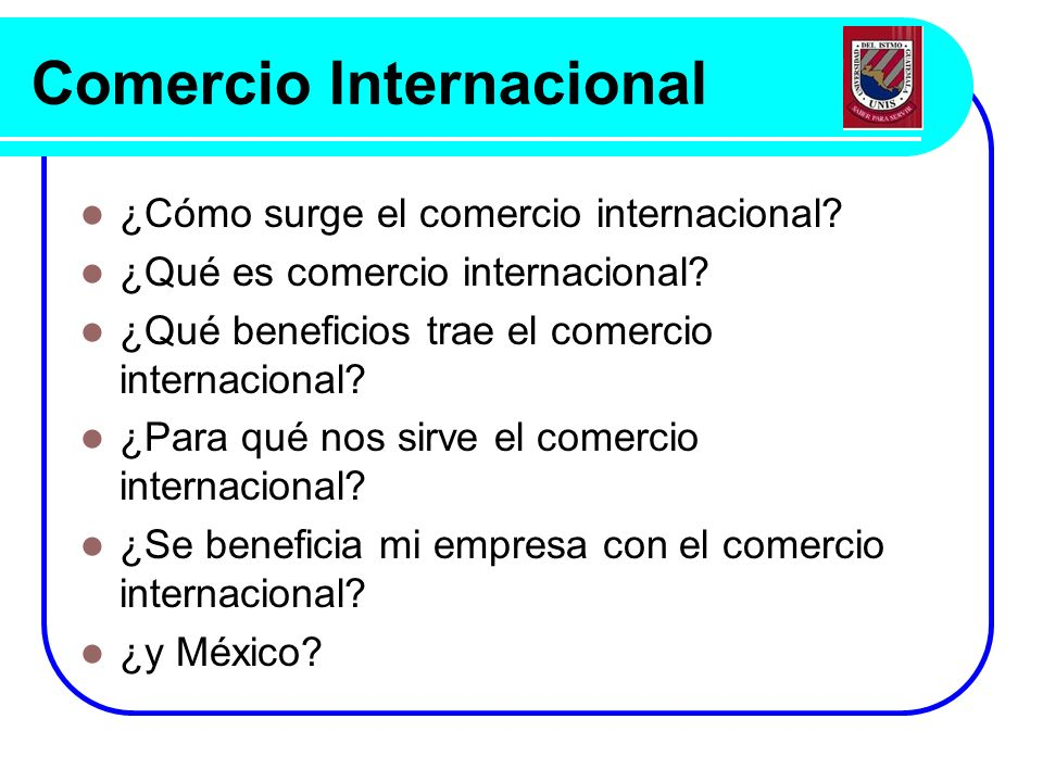 Comercio internacional ppt descargar for Que es el comercio interior