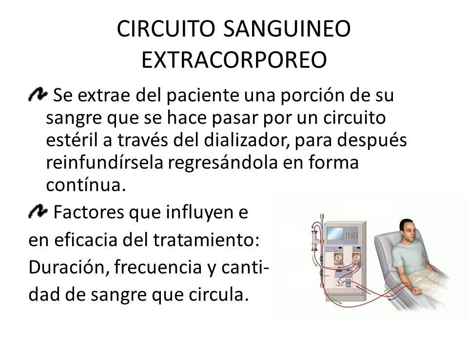 CIRCUITO SANGUINEO EXTRACORPOREO