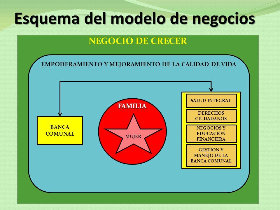 Esquema del modelo de negocios