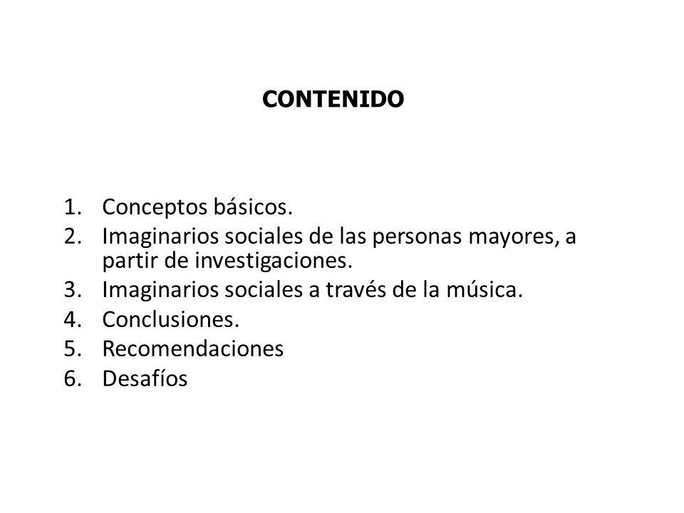 Imaginarios sociales a través de la música. Conclusiones.