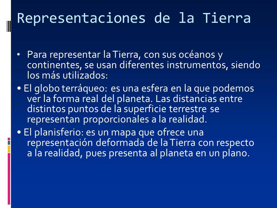 Representaciones de la Tierra