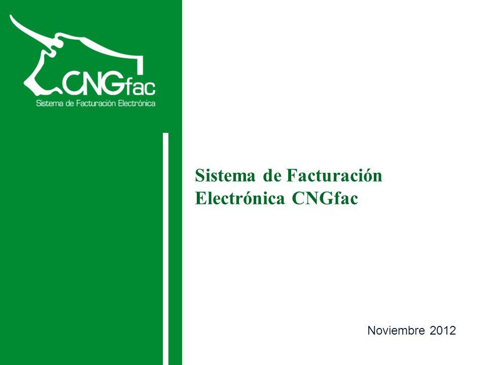 Sistema de Facturación Electrónica CNGfac